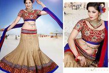 Stuff to Buy / Semi stitched Lehenga Choli