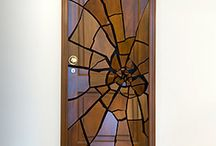 Door Art / From painted, graffitied, and stained glass doors to doors used in art installations and in eye catching archetecture, we love to see people unleash their creative side on entryways across the globe.