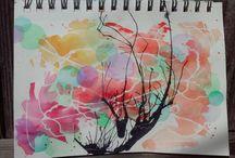 dwoods watercolor