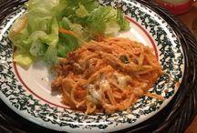 Recipes -- Pasta / Various pasta recipes