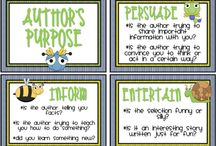 author's purpose / by Robin Mintzes