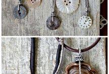 κοσμήματα με κουμπιά