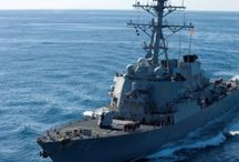 10 Missing, 5 Injured In US Destroyer's Collision With Merchant Vessel