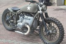 #BMW #CAFE #RACER #Military
