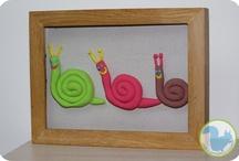School, ecole, Automne, escargot, pomme, herisson, feuilles, raisin, écureuil, renard / by Cécile smilingmother