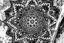 Mandala / Réunis les mandalas que je souhaite reproduire ❤️