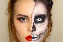 halloween make up anne