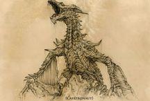 Драконы / Драконы раньше от этого слова содрогался каждый селянин не отъемлимая часть скандинавской мифологии. Может когдато они и жили на нашей планете
