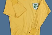 International Shirts / A selection of international shirts from the National Football Museum collection.