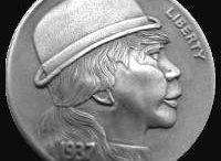 Portraits/Male Profiles/Buffalo: Hobo Nickels