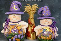 polymer clay - halloween