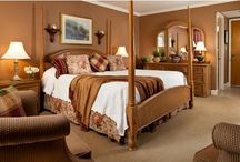 Our Rooms / These photos are a selection of the 70 rooms and 2 suites on our property.