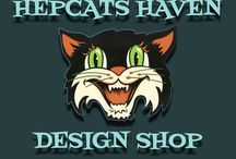 Hepcats Haven Design Shop / Designs by Shane of Hepcats Haven available for purchase at https://www.redbubble.com/people/hepcatshaven