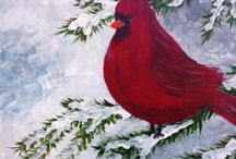January 2015 Events- New Year! / Events artwork for Corks and Canvas Events in the month of January