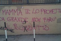 Wisdom on the wall / Saggezza che viene dai muri.