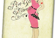 Baby shower pinup pin up