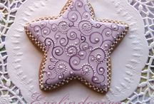 estrellas star cookies / by Rosa M Fernández