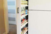 Cupboards storage ideas