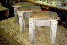 Riciclo creativo | Design from recycling / Trasformiamo materiali di recupero in oggetti di design