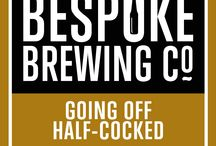 Bespoke Brewing Co. real ale / Different types of real ale brewed by the Bespoke Brewing Co.