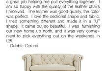 Testimonials / We are so grateful to hear such kind words about who we are and what we do!