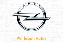 Opel Advertising / Graphic and audiovisual Opel advertising - Publicidad gráfica y audiovisual de Opel