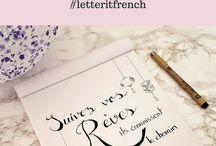 écrit pour calligraphies