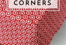 Sewing boxed corners