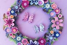 Quilling blomster