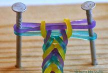 Loom band gumičky