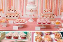 Inspirations sweet tables