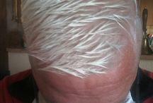 my Haircuts / rasiert und blond high and tigh Haircut