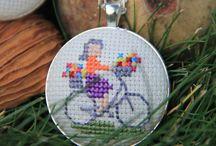 Necklace stitch