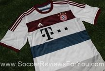 2014-15 Bundesliga Jerseys