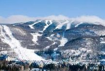 Mont Tremblant / McCoy Bus Service & Tours journeys to Mont Tremblant, Quebec for overnight and day trips! View the beauty Mont Tremblant has to offer with #GoMcCoy / by McCoy Tours