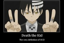 Death the kid, the very definition of OCD