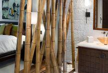 Bambu pole