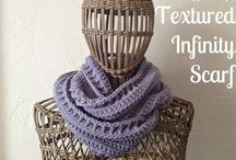 crochet scarf & cowl / free patterns