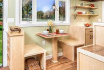 Dining Nooks / nothing like dining in a nook!
