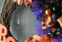 Halloween Wreaths / by Ashleigh Creech