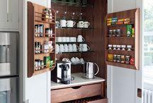Design: Storage, Pantry, Tea, Coffee / Storage, Pantry, Tea, Coffee