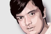 "WAHEED MURAD / Waheed Murad  (2 October 1938 – 23 November 1983) was a legendary Pakistani film actor, producer and script writer, famous for his charming expressions, attractive personality, tender voice and unusual talent for acting. Waheed is considered as one of the most famous and influential actors of South Asia. He is often referred to as ""Chocolaty Hero"" or ""Chocolate Hero""."