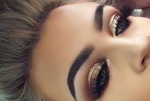 namalované oči