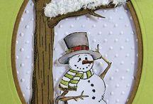 fali kép hóember