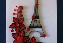 Quilling walldeco