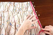 Julie sewing