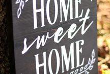 Dekorace Home Sweet Home