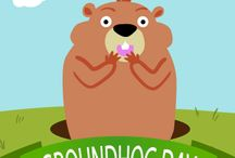 Groundhog Day Cards