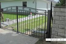 Gartentor/Geländer/Hof