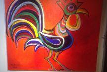 kippen / Kippen kunst